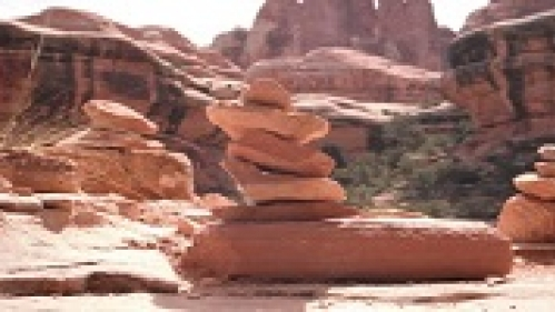 rock formations in the desert