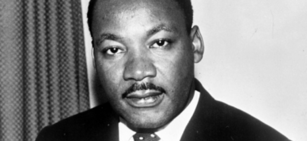 Photo of Martin Luther King Jr. in Creative Commons