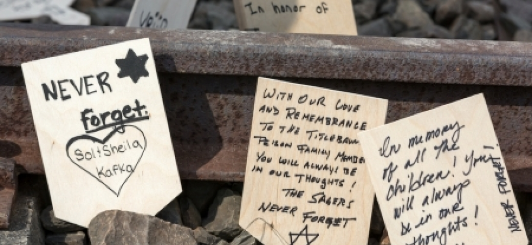 """messages on train tracks, """"never forget"""" and other prayers"""