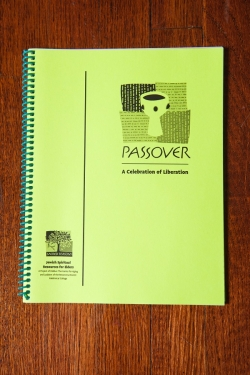 front cover of passover: a celebration of freedom booklet