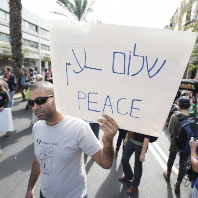 israel peace demonstration