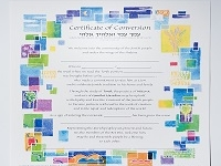 Conversion Certificate for Baby Boy